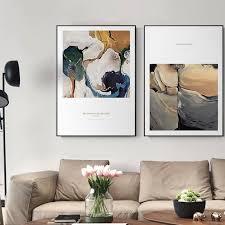 <b>Modern</b> Abstract <b>Wall Art</b> Print – Lewe Decor