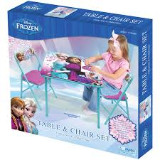 disney frozen activity table set cosco childrens folding and chairs efb b ae de db