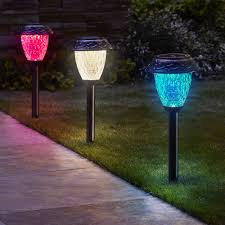 Red White Blue Solar Lights Blue Solar Fairy Lights Garden String Red White Powered