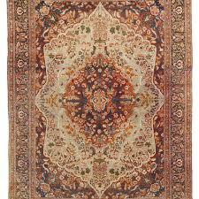 antique tabriz carpet haji jalili work persia
