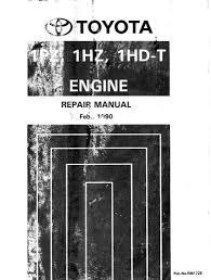 PDF ONLINE - Toyota 1hd 1hz 1pz-t Engine Service Repair Manual (RM172E)
