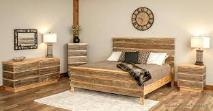 Real Wood Bedroom Sets Rustic Furniture Solid – Fevcol