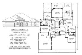 1 story 3 bedrooms 3 1 2 bathroom 1 dining area 1 family room 1 study 1 texas basement 1 storage and 2 car garage 2840 square feet house plan