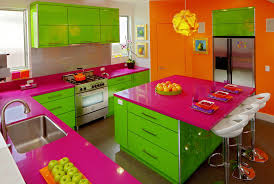 Colorful Kitchen Count Them Bright And Colorful Kitchen Design Ideas Kitchen