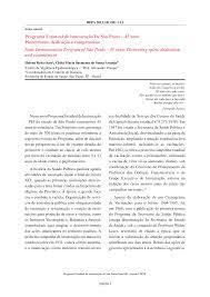 Programa Estadual de Imunização De São Paulo – 45 anos Pioneirismo,  dedicação e compromisso State Immunization Program of