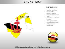 Brunei Country Powerpoint Maps Powerpoint Slide Templates