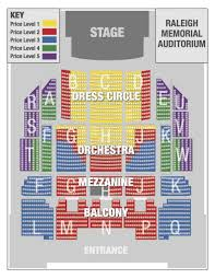 Raleigh Amphitheater Seating Chart Seating Chart Nc Theatre