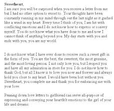 How To Write A Romantic Letter To Your Girlfriend Images - Letter ...