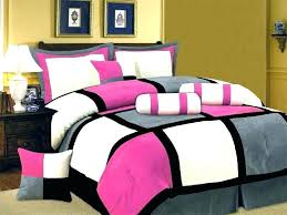 black white pink bedding gray and pink bedding sets new pink black white gray bedding suede