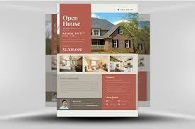 021 Template Ideas Real Estate Flyer 05 Example Open House