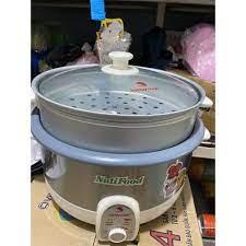 Nồi Lẩu Điện Đa Năng Happy Cook HCHP-360RS - Hàng Khuyến Mãi NUTIFOOD