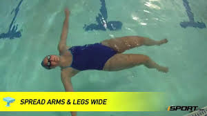 how to float for beginning swimmers