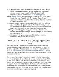writing a good college application essay getting a head start on college application essays impact and initia