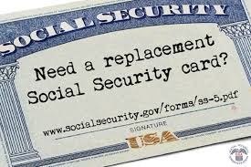replacing your social security card