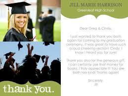 17 Best Graduation Thank You Images On Pinterest Graduation Thank