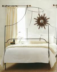 Romantic and Beautiful Iron Canopy Bed — Ccrcroselawn Design