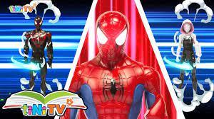 Biệt đội Siêu Nhân Nhện Spider Man biến hình
