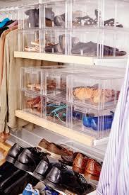 Shoe Organization Shoe Storage Elfa White Gliding Shoe Shelf Shoes Are Easily