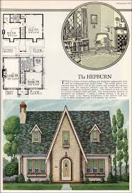ENGLISH COTTAGE STYLE HOME PLANS   House Plans  amp  Home DesignsPost WWII English Cottage Home Plan   Style Trends   National