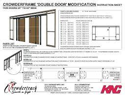 bifold door rough opening standard bifold door rough opening measurements