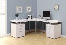 desks for office. Creative Of Office Desk Computer With White L Shaped Corner For Or Desks