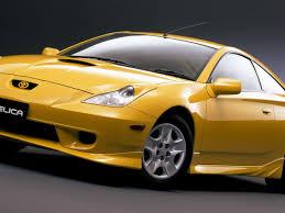 Golden Toyota Celica in Stunning HD - HD Wallpapers