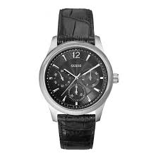 guess mens chronograph watch w0475g1 guess mens watch w0475g1