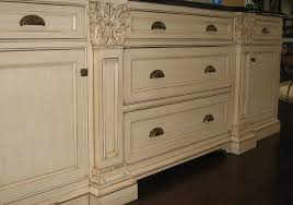 Distressed White Kitchen Cabinets Kitchen Mediterranean Beadboard Cabinet  Front How To Paint Distressed Kitchen Cabinets