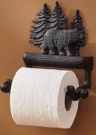 Bathroom Paper Amazing MooseRUsCom Cast Iron Lodge Theme Bear Bathroom Accessories Towel
