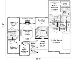 country style house plans with walkout basement
