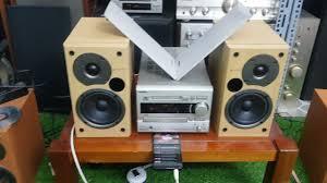 dàn ghép bộ onkyo v5 loa v77 có chỉnh treble bas nghe nhạc vàng quá phê. lh  0966594581 - YouTube
