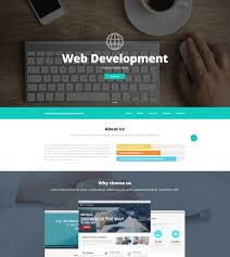 Website Design Templates Impressive Web Design And Advertising Website Template 28