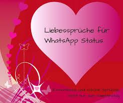 Liebessprüche Für Whatsapp Status Romantisch Und Schön Nicht Nur