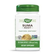 Natures Way - <b>Suma Root</b> (Brazilian Ginseng), <b>1,500mg</b> x 100 ...