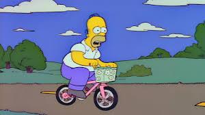 Kuvahaun tulos haulle homer simpson cycling
