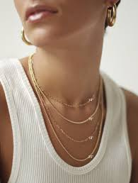 Necklace Chart Curb Chain Necklace Laura Lombardi Jewelry