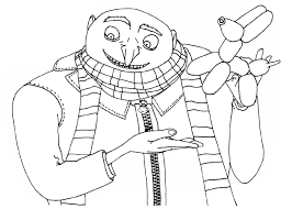 Small Picture Despicable Me Coloring Pages Kids Under 7 Despicable Me Coloring