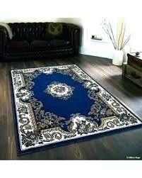 blue and brown area rug chocolate rugs light gray cream
