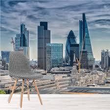 London Stadtbild Fototapete Stadt Skyline Tapete Büro Schlafzimmer
