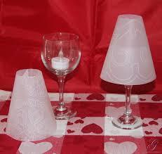 Vellum Light Shades Jamies Craft Room Wine Glass Lamp Shades