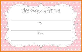 Free Printable Blank Coupon Template Customizable Editable Resume