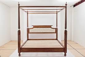 Custom Canopy Bed | Laurel Crown Furniture