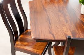 amish dining chair. This Elegant Elm Wood Dining Set Is Our Newest Room Addition At Gibson Furniture. Amish Made In Ohio, The Grain Table Top Includes Matching Chair N