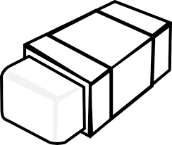 eraser clipart black and white. Beautiful Clipart To Eraser Clipart Black And White WorldArtsMe