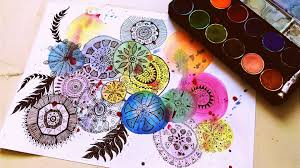mandala drawing zentagle painting and drawing inspirational