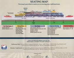 Belmont Park Seating Chart