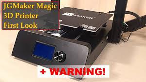 <b>JGMaker Magic</b> - First Look + Warning! - YouTube