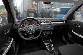 2018 suzuki swift sport interior. interesting swift visually it still has swift characteristics such as the squat appearance  and short rear overhang suzuki reckons looks more masculine than before  inside 2018 suzuki swift sport interior i