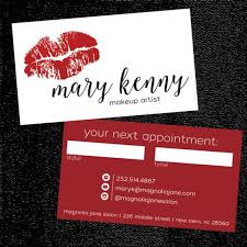 add a purpose makeup artist business cards