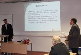 Новости Оппонирование докторской диссертации профессором  Защита проходила на английском языке